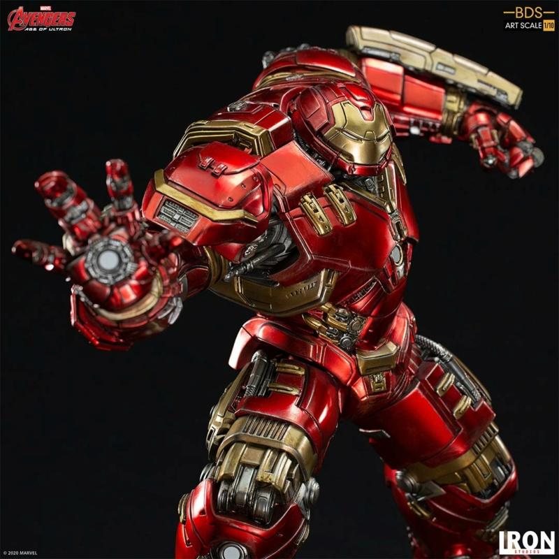 IRON STUDIOS : Avengers: Age of Ultron – Hulkbuster Battle Diorama Series 1/10 Scale Statue Hulkbu32
