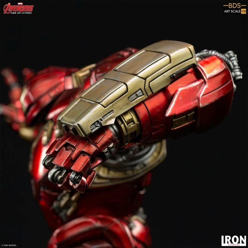 IRON STUDIOS : Avengers: Age of Ultron – Hulkbuster Battle Diorama Series 1/10 Scale Statue Hulkbu33