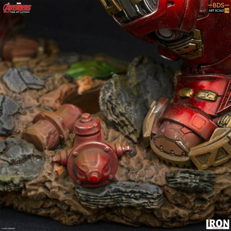 IRON STUDIOS : Avengers: Age of Ultron – Hulkbuster Battle Diorama Series 1/10 Scale Statue Hulkbu34