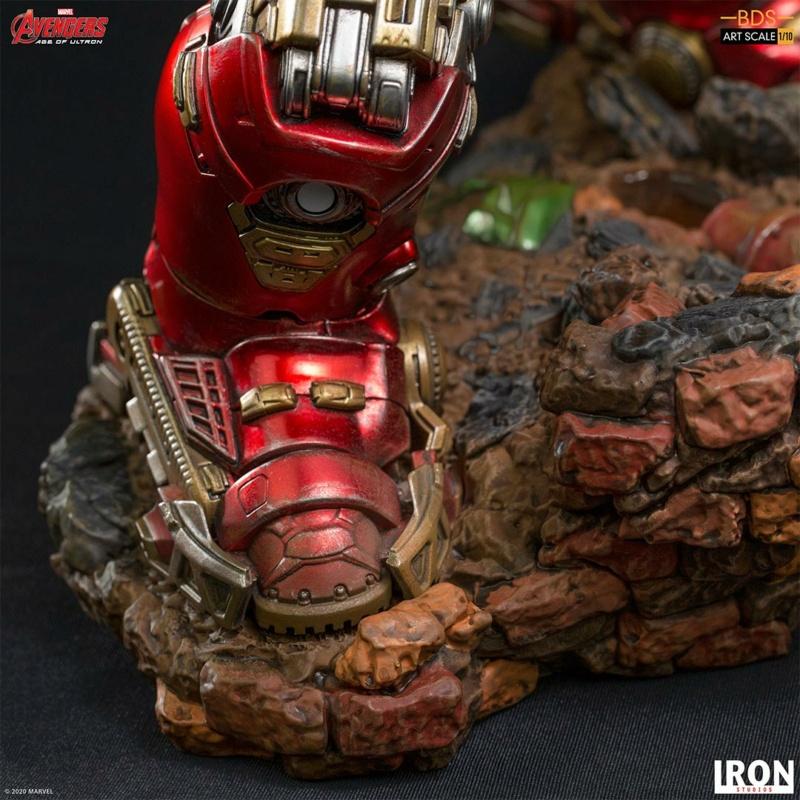 IRON STUDIOS : Avengers: Age of Ultron – Hulkbuster Battle Diorama Series 1/10 Scale Statue Hulkbu35