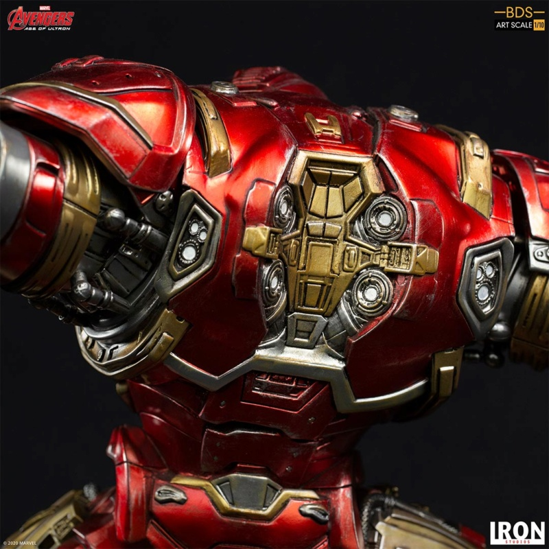 IRON STUDIOS : Avengers: Age of Ultron – Hulkbuster Battle Diorama Series 1/10 Scale Statue Hulkbu36