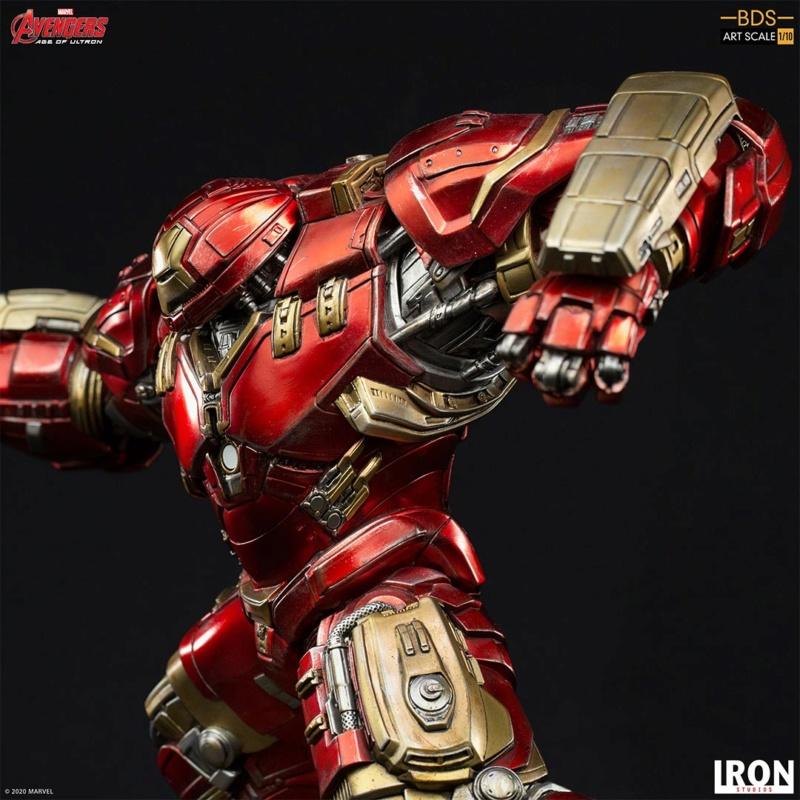 IRON STUDIOS : Avengers: Age of Ultron – Hulkbuster Battle Diorama Series 1/10 Scale Statue Hulkbu37