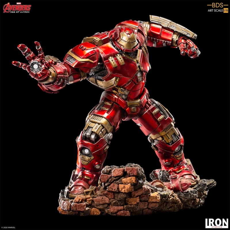 IRON STUDIOS : Avengers: Age of Ultron – Hulkbuster Battle Diorama Series 1/10 Scale Statue Hulkbu38