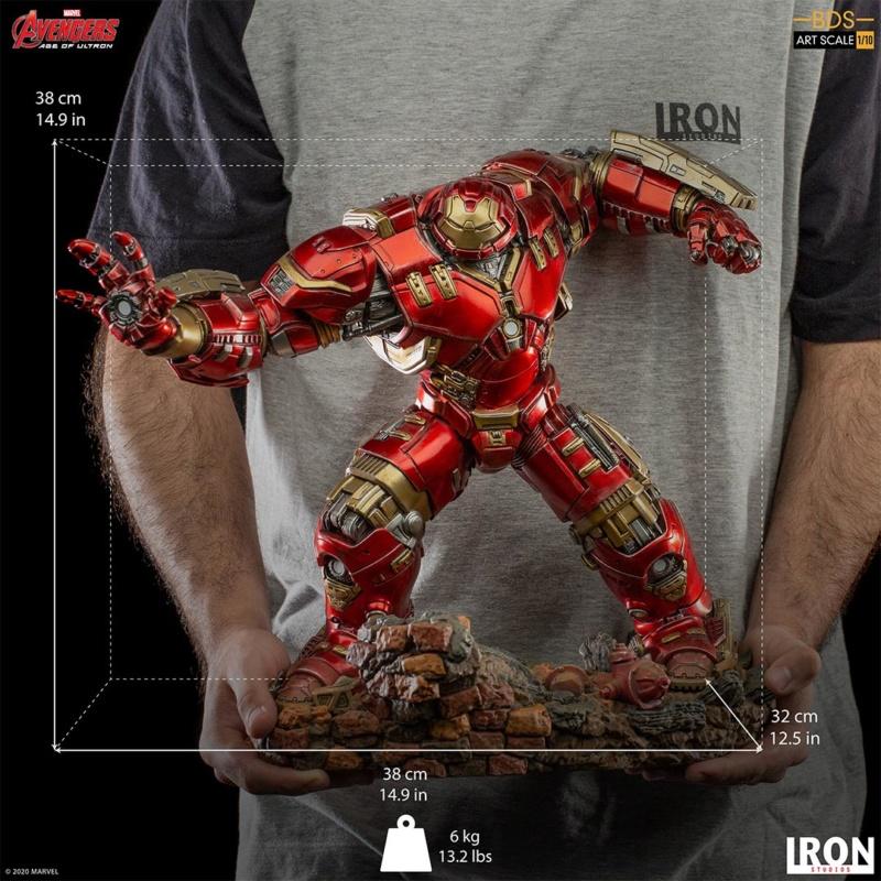 IRON STUDIOS : Avengers: Age of Ultron – Hulkbuster Battle Diorama Series 1/10 Scale Statue Hulkbu39