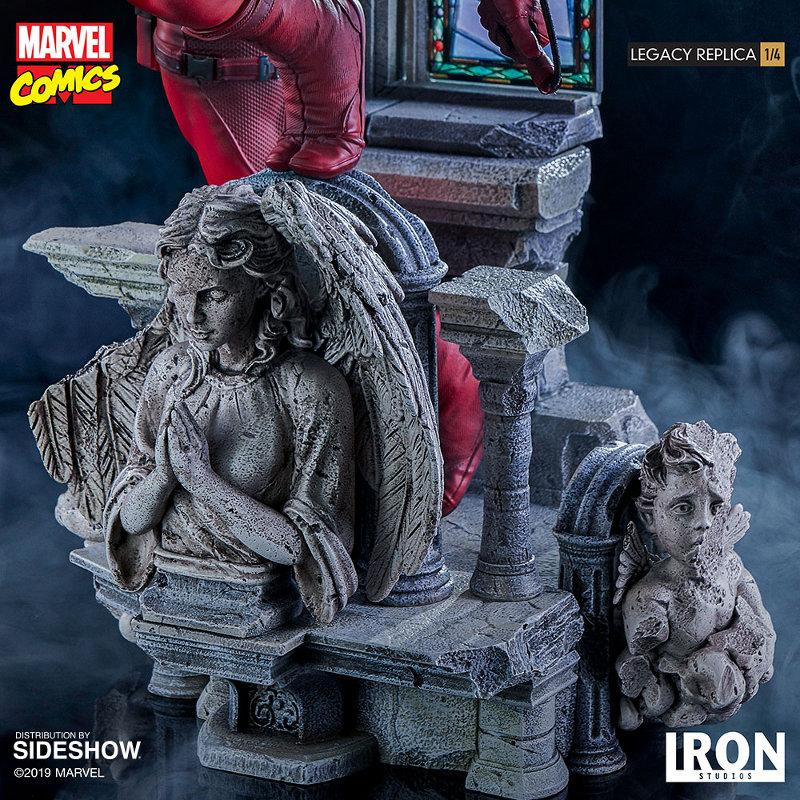 IRON STUDIOS : Daredevil Legacy 1/4th Scale Statue Iron-111