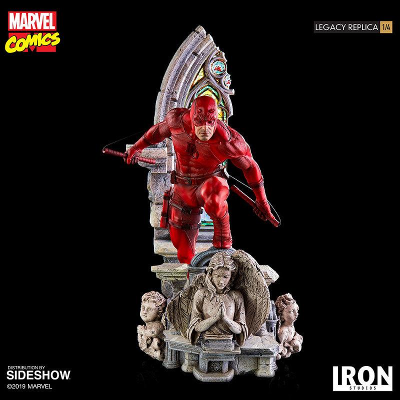 IRON STUDIOS : Daredevil Legacy 1/4th Scale Statue Iron-112