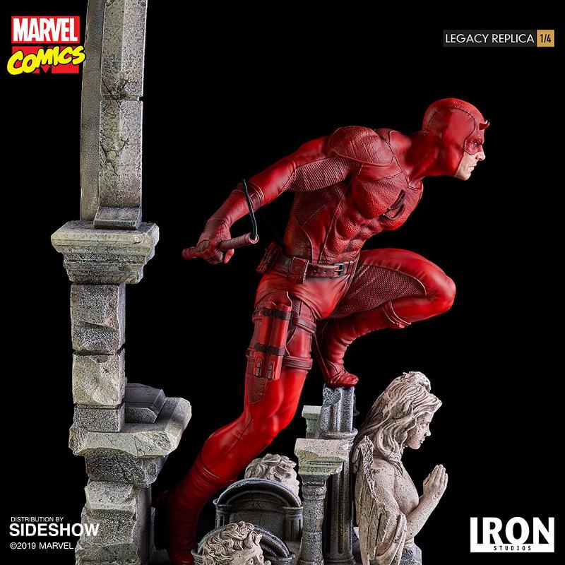 IRON STUDIOS : Daredevil Legacy 1/4th Scale Statue Iron-113