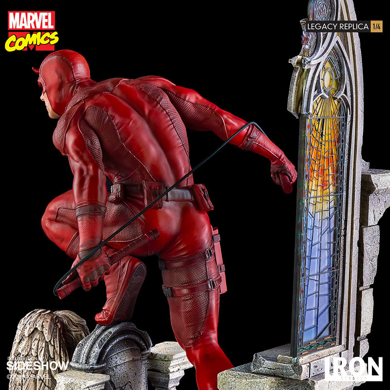 IRON STUDIOS : Daredevil Legacy 1/4th Scale Statue Iron-115