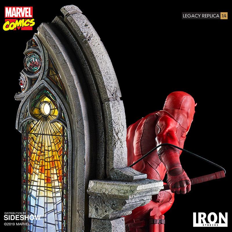 IRON STUDIOS : Daredevil Legacy 1/4th Scale Statue Iron-117