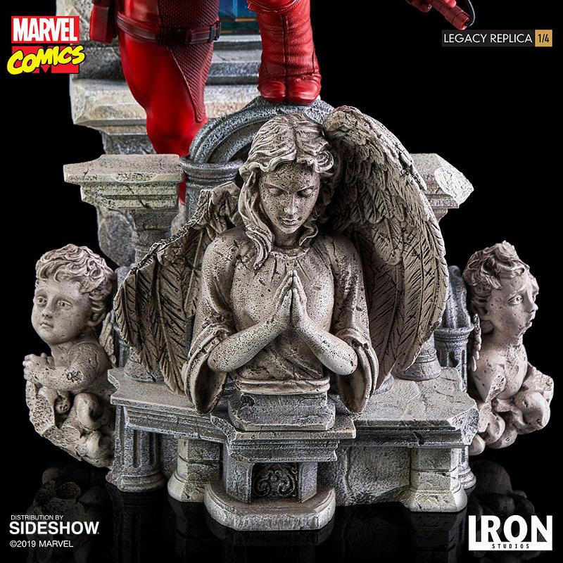 IRON STUDIOS : Daredevil Legacy 1/4th Scale Statue Iron-118