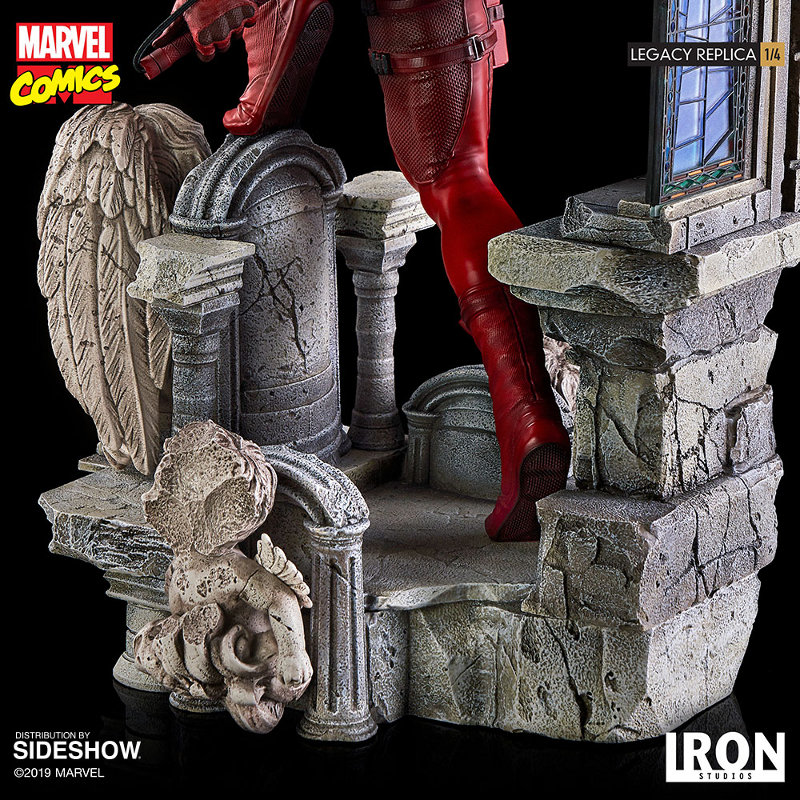 IRON STUDIOS : Daredevil Legacy 1/4th Scale Statue Iron-120