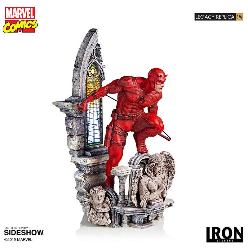 IRON STUDIOS : Daredevil Legacy 1/4th Scale Statue Iron-122