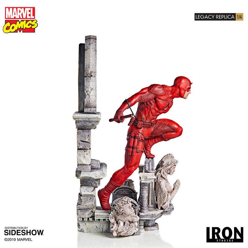 IRON STUDIOS : Daredevil Legacy 1/4th Scale Statue Iron-123