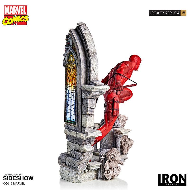 IRON STUDIOS : Daredevil Legacy 1/4th Scale Statue Iron-124