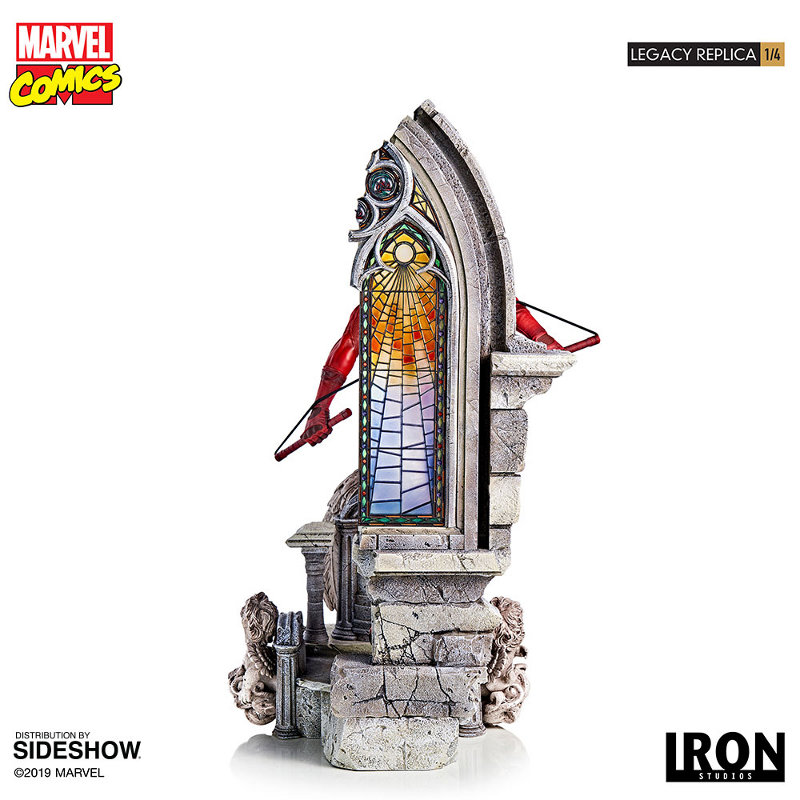 IRON STUDIOS : Daredevil Legacy 1/4th Scale Statue Iron-125