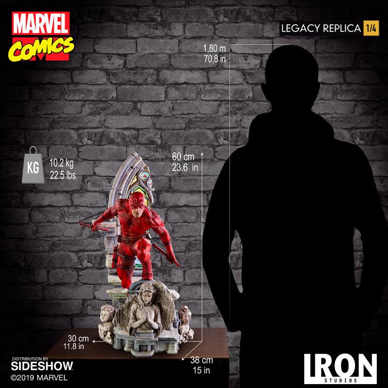 IRON STUDIOS : Daredevil Legacy 1/4th Scale Statue Iron-128