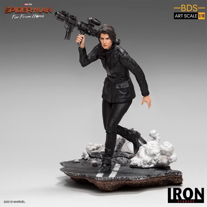 IRON STUDIOS : Spider-Man: Far From Home – Maria Hill 1/10 Statue Iron-178