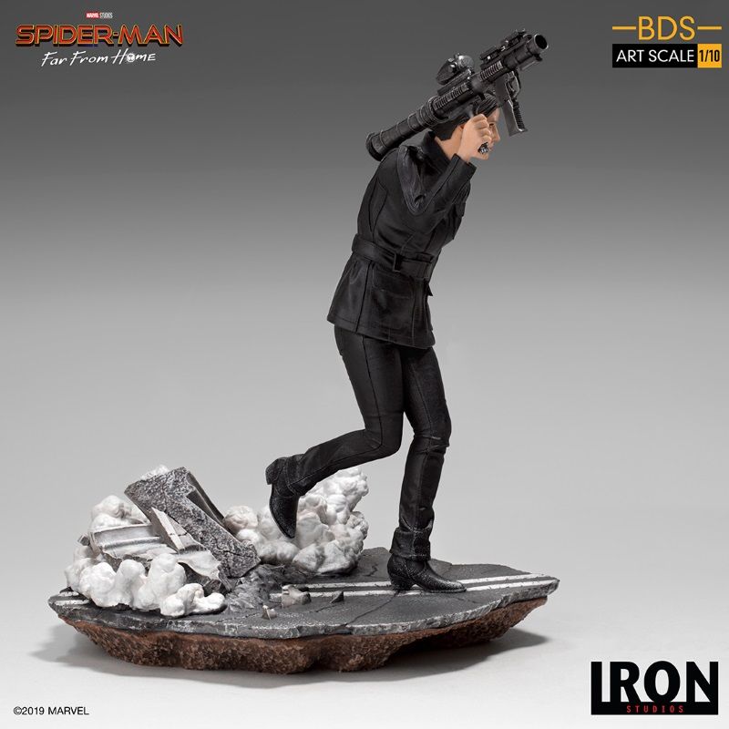 IRON STUDIOS : Spider-Man: Far From Home – Maria Hill 1/10 Statue Iron-179