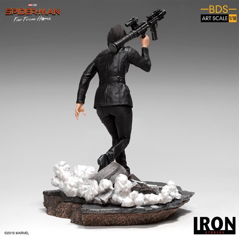 IRON STUDIOS : Spider-Man: Far From Home – Maria Hill 1/10 Statue Iron-180