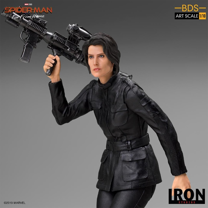 IRON STUDIOS : Spider-Man: Far From Home – Maria Hill 1/10 Statue Iron-182