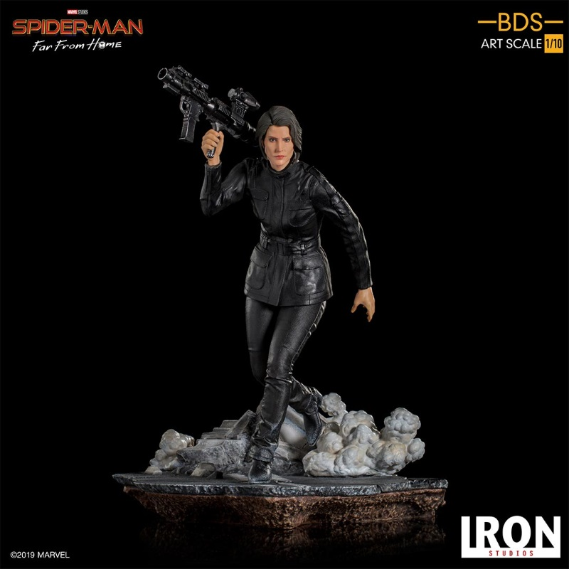 IRON STUDIOS : Spider-Man: Far From Home – Maria Hill 1/10 Statue Iron-184