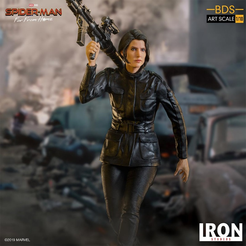 IRON STUDIOS : Spider-Man: Far From Home – Maria Hill 1/10 Statue Iron-185