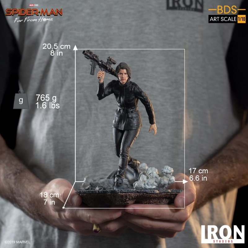 IRON STUDIOS : Spider-Man: Far From Home – Maria Hill 1/10 Statue Iron-186