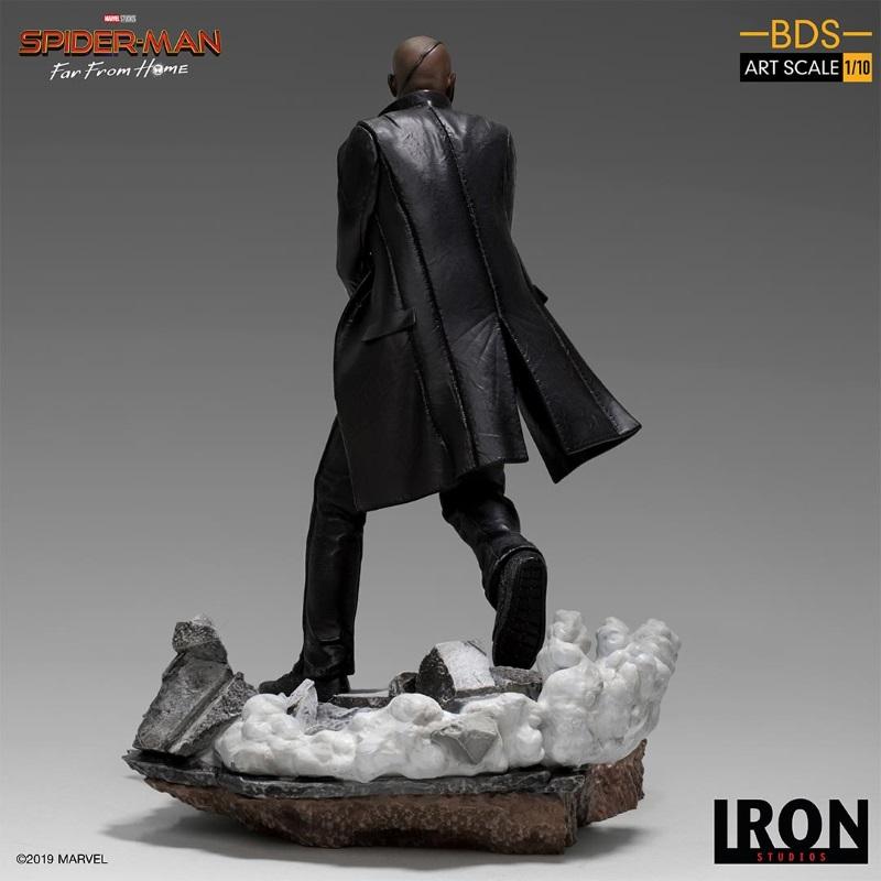 IRON STUDIOS : Spider-Man: Far From Home – Nick Fury 1/10 Statue Iron-189
