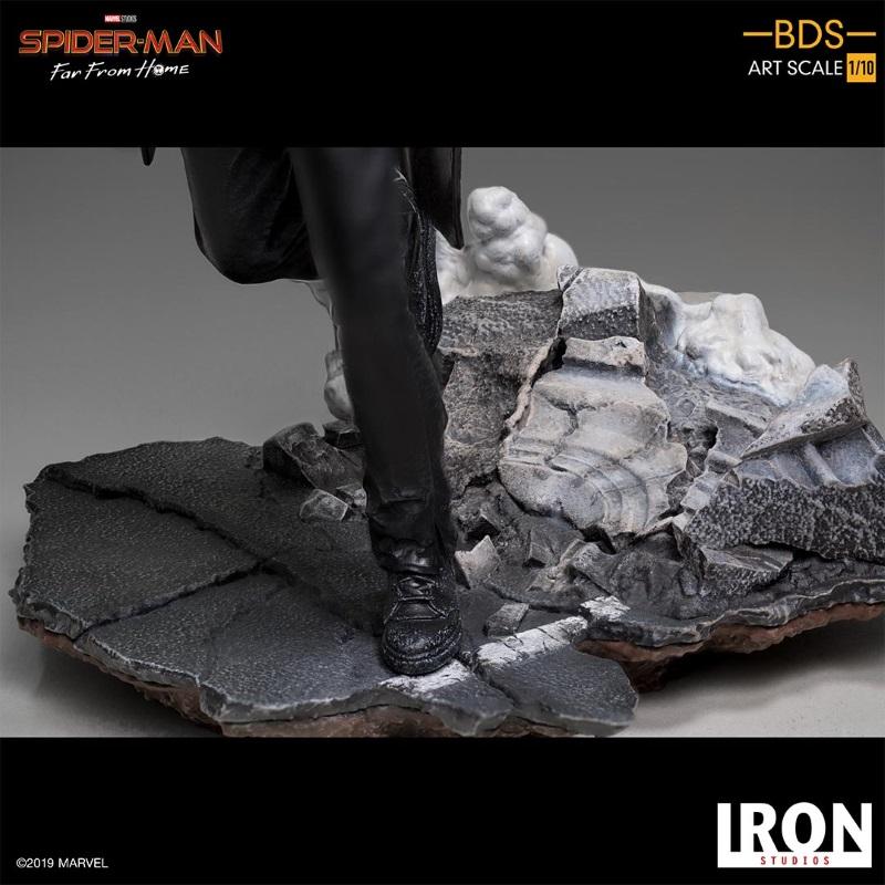 IRON STUDIOS : Spider-Man: Far From Home – Nick Fury 1/10 Statue Iron-192