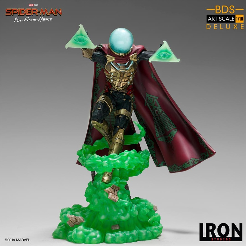 IRON STUDIOS : Spider-Man: Far From Home – Mysterio 1/10 scale statue Iron-198