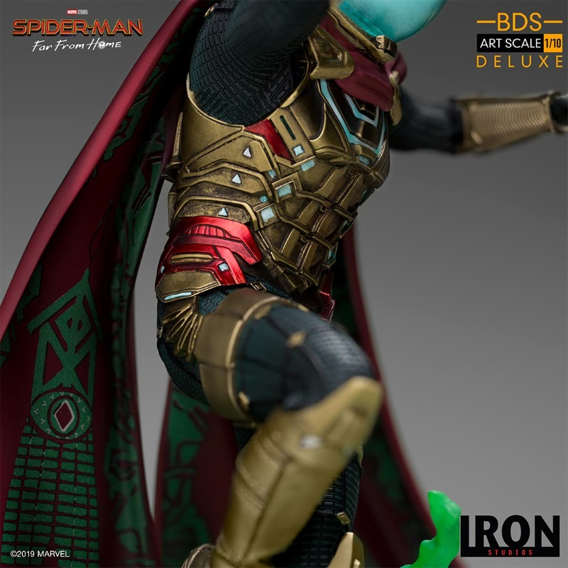 IRON STUDIOS : Spider-Man: Far From Home – Mysterio 1/10 scale statue Iron-205