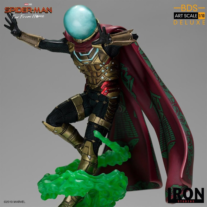 IRON STUDIOS : Spider-Man: Far From Home – Mysterio 1/10 scale statue Iron-206