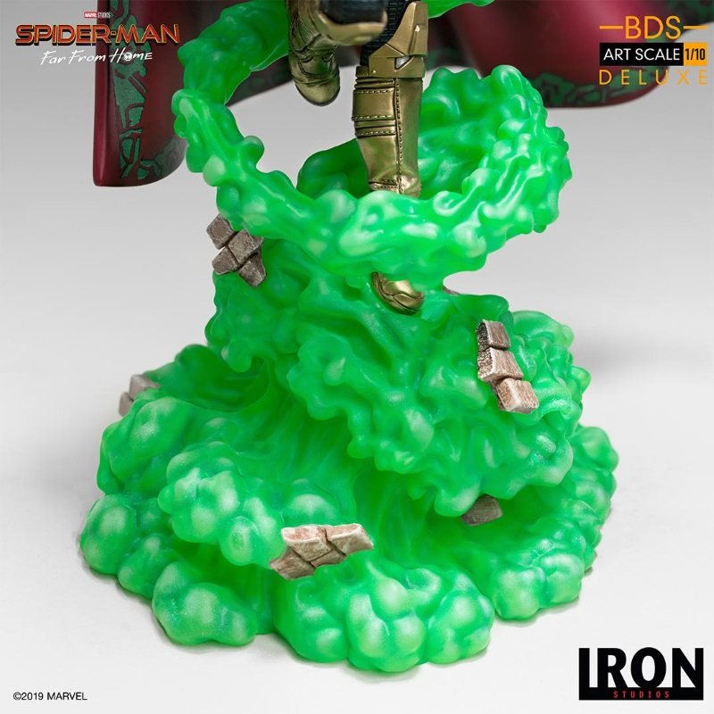IRON STUDIOS : Spider-Man: Far From Home – Mysterio 1/10 scale statue Iron-208
