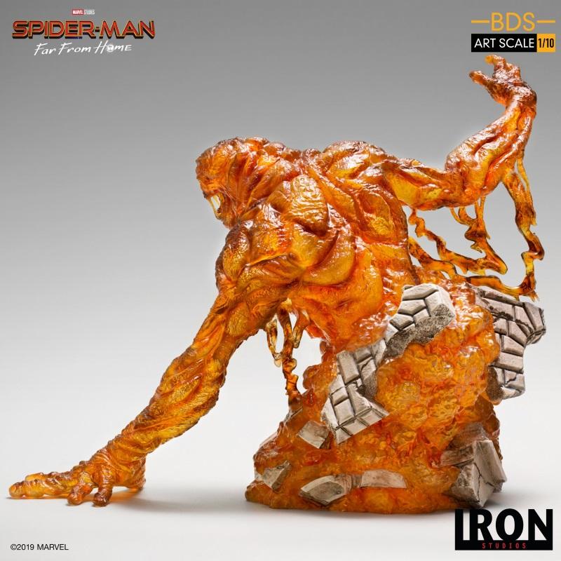IRON STUDIOS : Spider-Man: Far From Home – Molten Man 1/10 scale Statue Iron-216