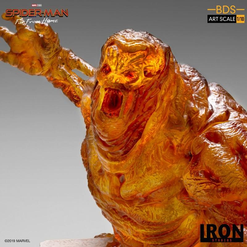 IRON STUDIOS : Spider-Man: Far From Home – Molten Man 1/10 scale Statue Iron-217