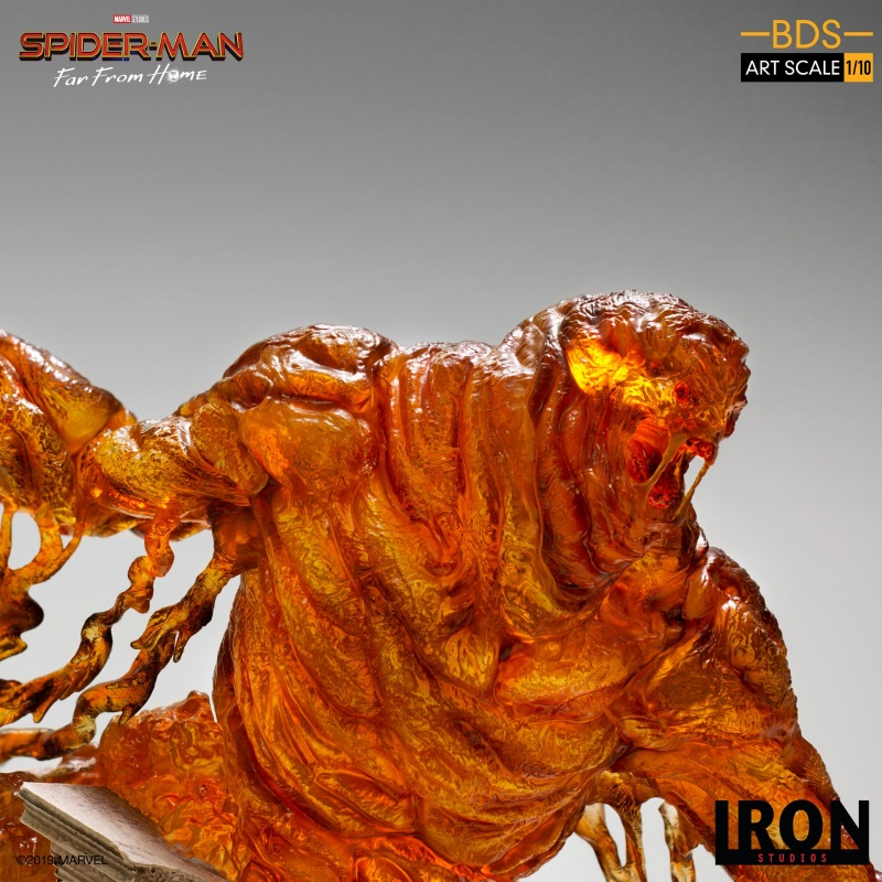 IRON STUDIOS : Spider-Man: Far From Home – Molten Man 1/10 scale Statue Iron-218