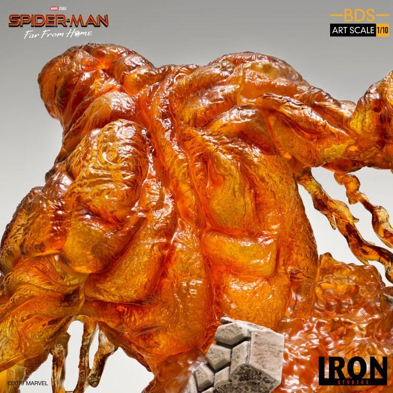 IRON STUDIOS : Spider-Man: Far From Home – Molten Man 1/10 scale Statue Iron-221