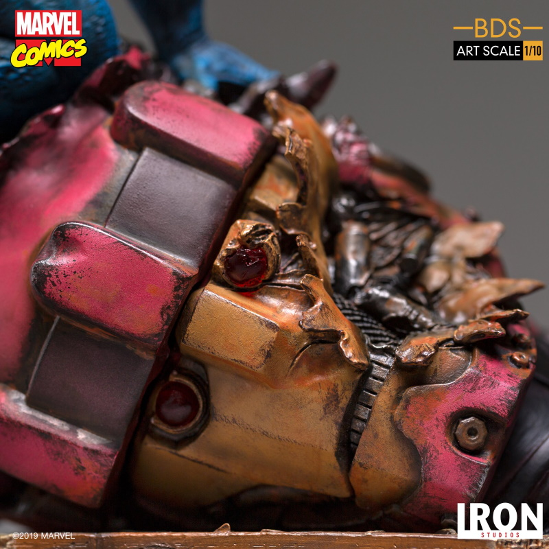 IRON STUDIOS : X-Men Battle Diorama Series Beast Statue  Iron-232