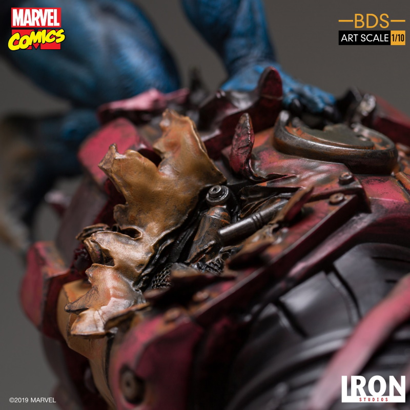 IRON STUDIOS : X-Men Battle Diorama Series Beast Statue  Iron-233