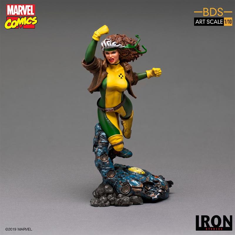 IRON STUDIOS : X-Men Battle Diorama Series Rogue 1/10 Statue Iron-238