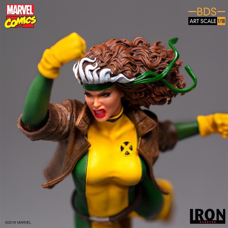 IRON STUDIOS : X-Men Battle Diorama Series Rogue 1/10 Statue Iron-245