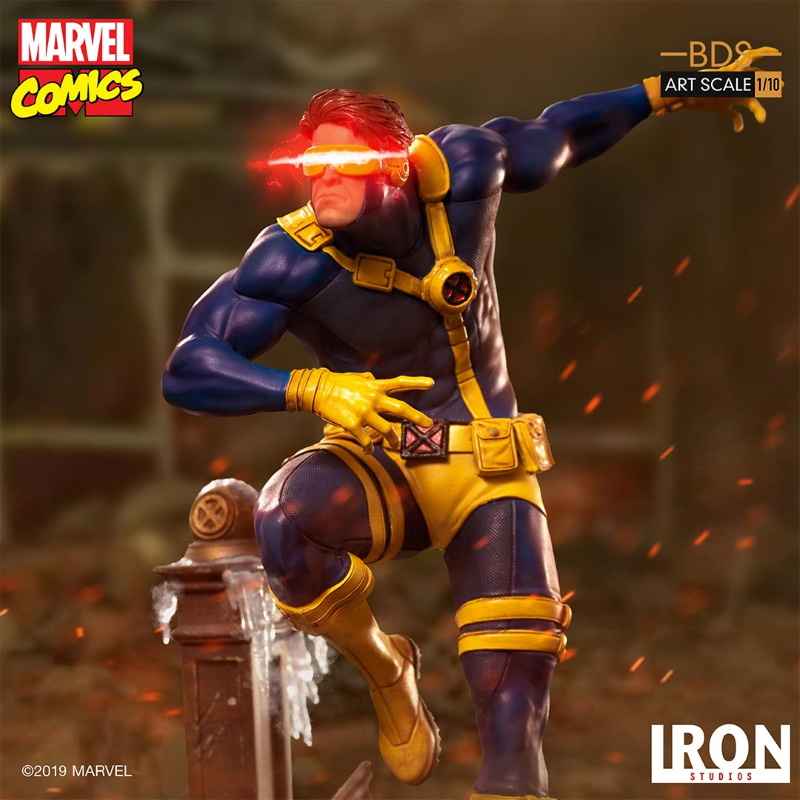 IRON STUDIOS : X-Men Battle Diorama Series Cyclops Statue  Iron-247
