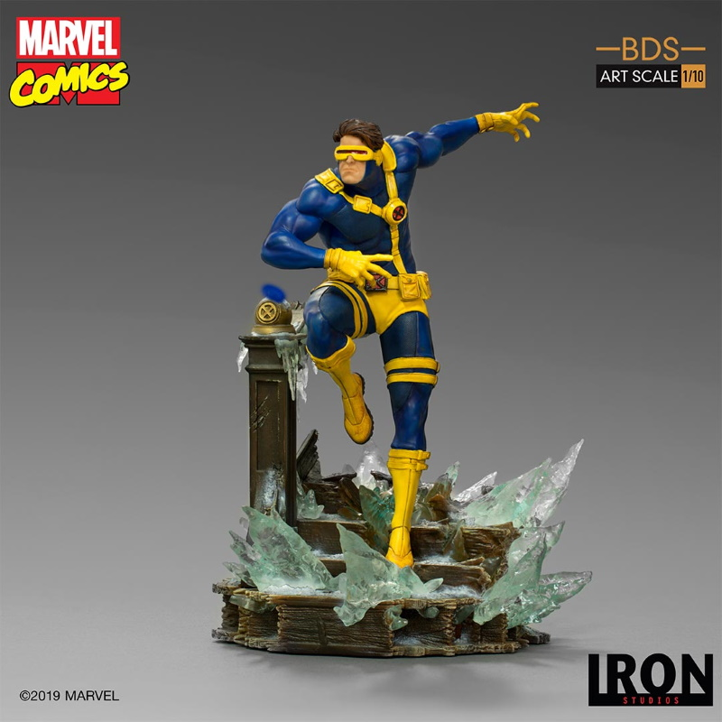 IRON STUDIOS : X-Men Battle Diorama Series Cyclops Statue  Iron-248