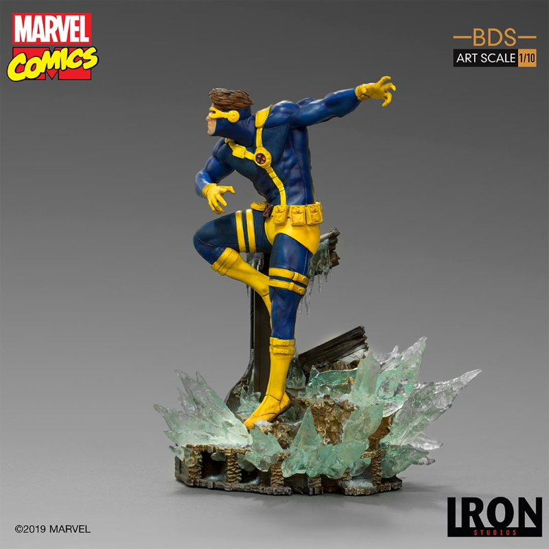 IRON STUDIOS : X-Men Battle Diorama Series Cyclops Statue  Iron-249