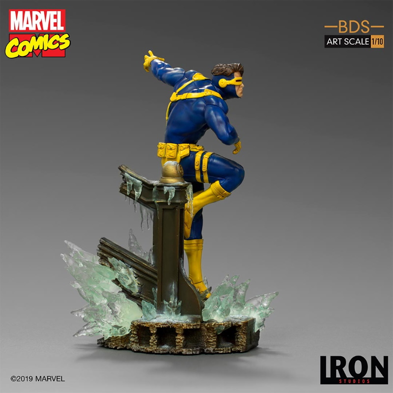 IRON STUDIOS : X-Men Battle Diorama Series Cyclops Statue  Iron-250