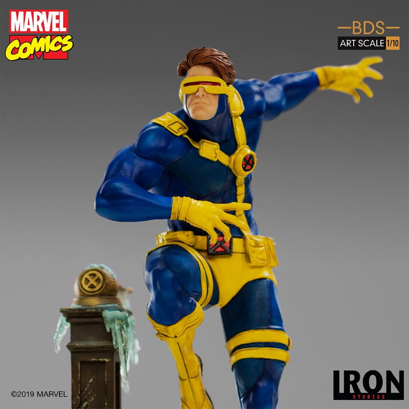 IRON STUDIOS : X-Men Battle Diorama Series Cyclops Statue  Iron-252