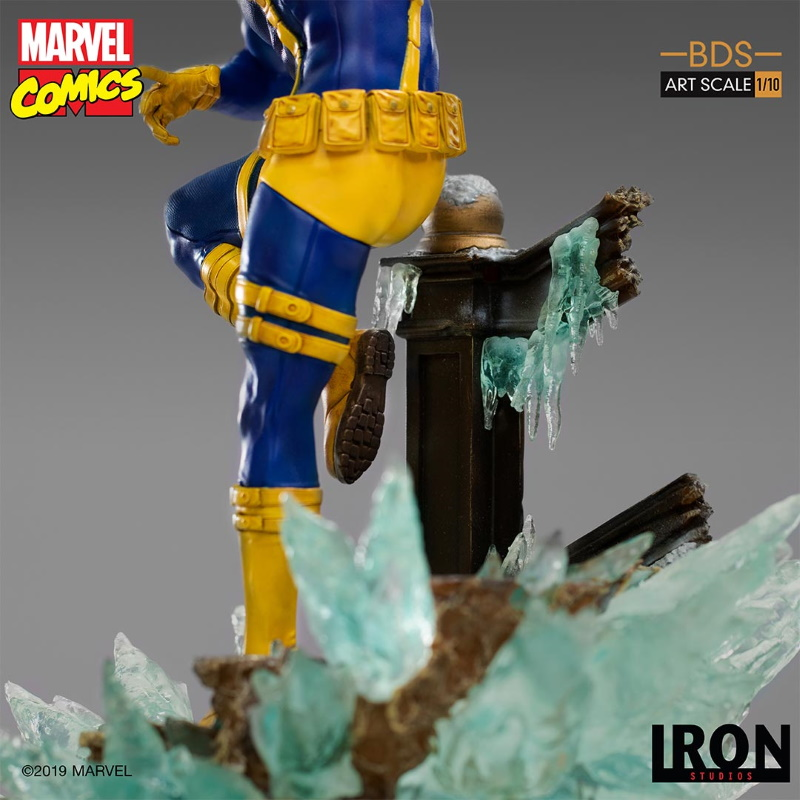 IRON STUDIOS : X-Men Battle Diorama Series Cyclops Statue  Iron-253