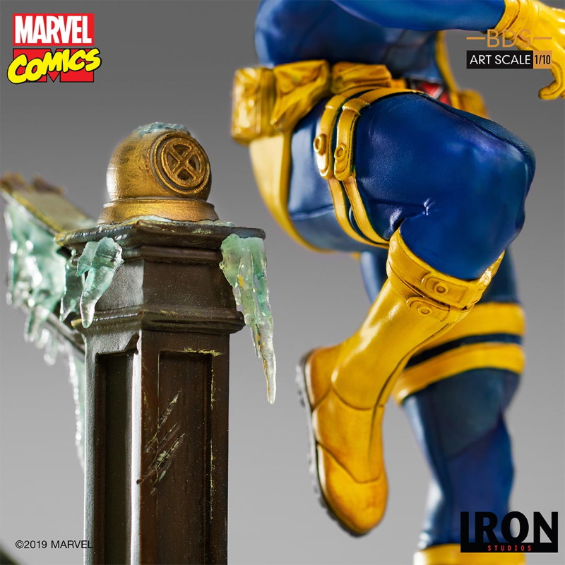 IRON STUDIOS : X-Men Battle Diorama Series Cyclops Statue  Iron-254