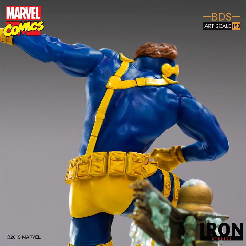 IRON STUDIOS : X-Men Battle Diorama Series Cyclops Statue  Iron-255