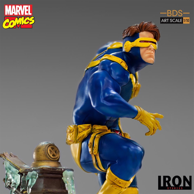 IRON STUDIOS : X-Men Battle Diorama Series Cyclops Statue  Iron-256